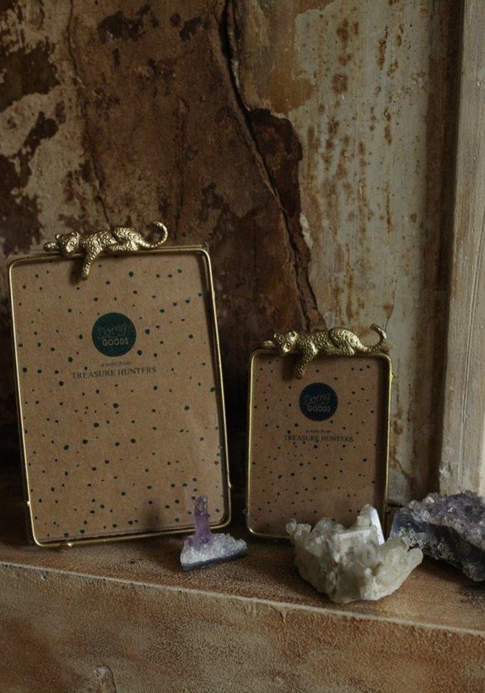 Doing Goods - Jenna Leopard Frame Small