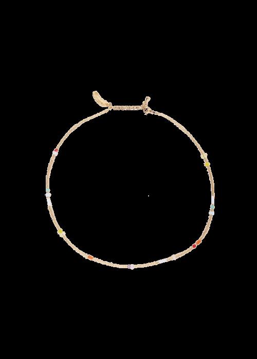 Le veer Le Veer - Rainbow Flair Necklace Gold