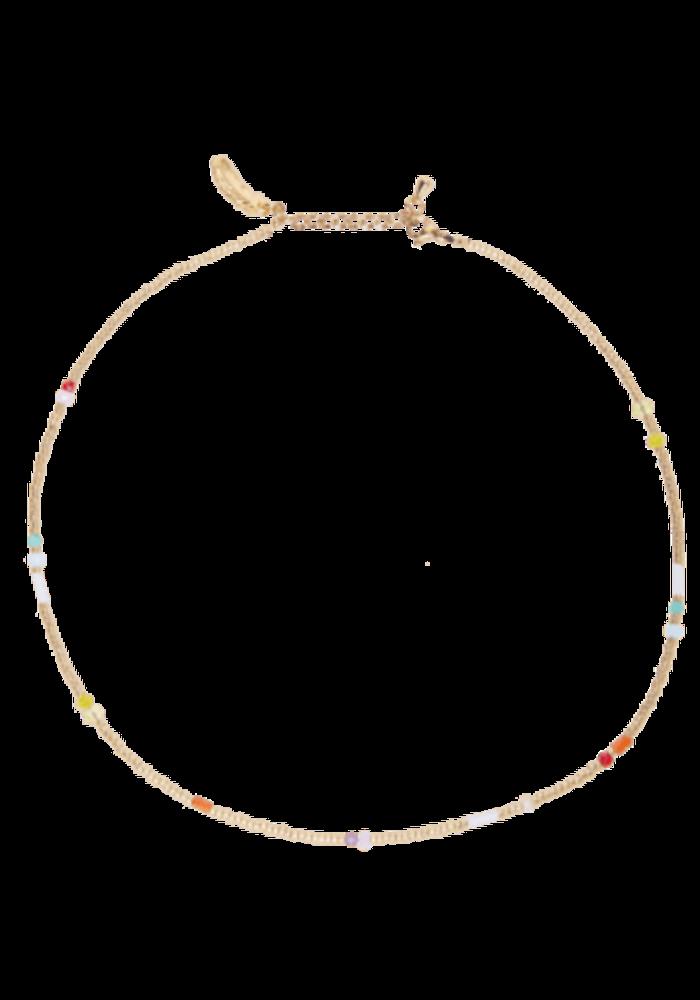 Le Veer - Rainbow Flair Necklace Gold