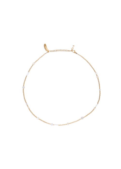 Le veer Le Veer - Beige Flair Necklace Gold