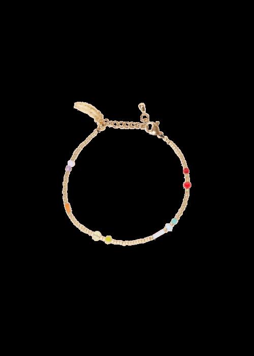 Le veer Le Veer - Rainbow Flair Bracelet Gold