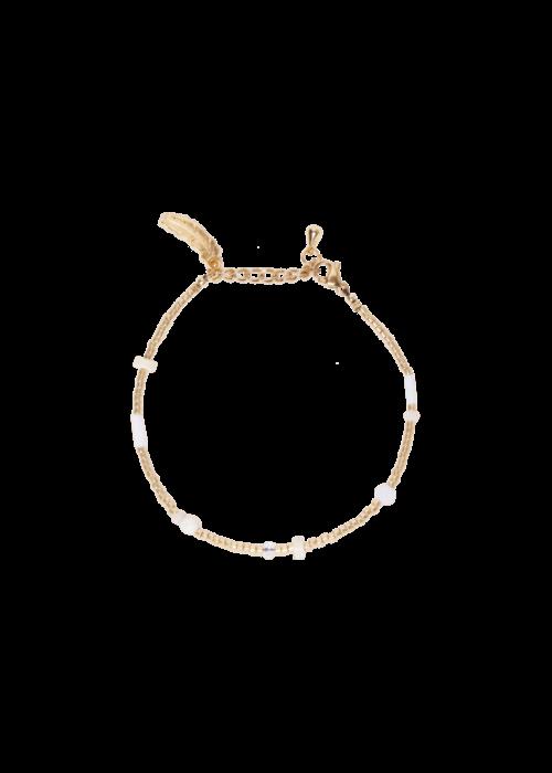 Le veer Le Veer - Beige Flair Bracelet Gold