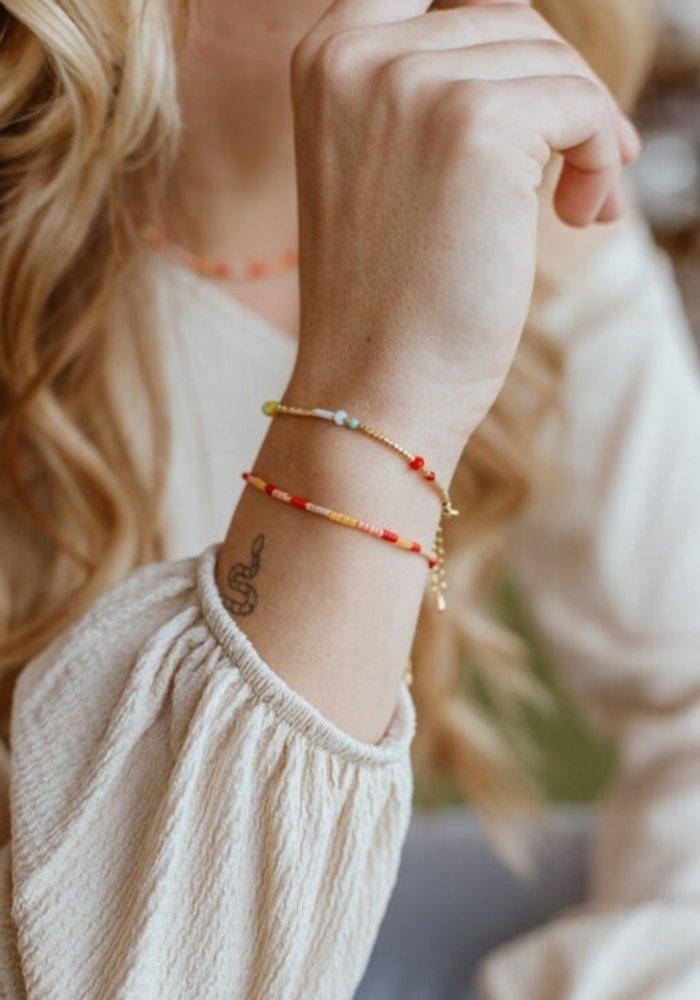 Le Veer - Rainbow Flair Bracelet Gold