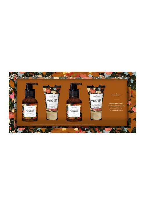 The Gift Label - Giftset - Always nice to see you