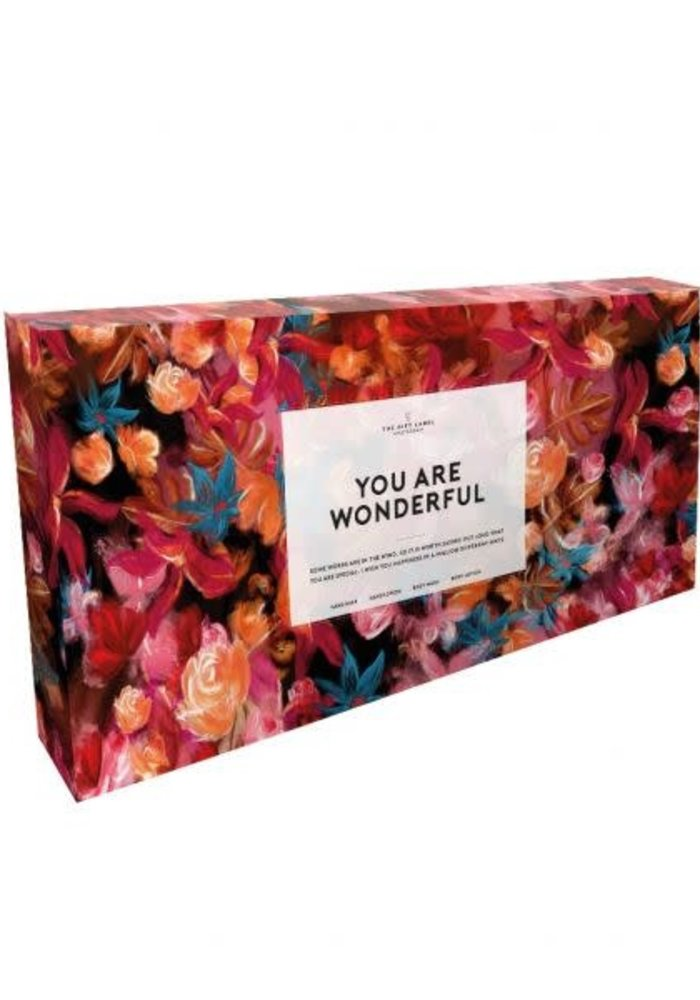 The Gift Label - Giftset - You are wonderful