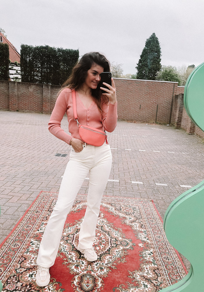24colours - Cropped Top Pink