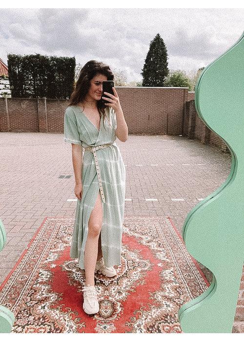TilTil - Sonia Batik Dress Mint