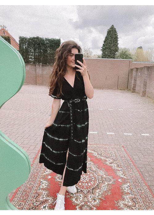 TilTil - Sonia Batik Dress Black