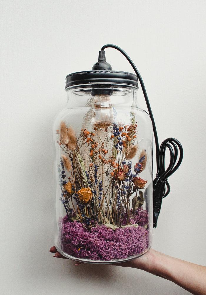 Ratatouille -  Droogbloem Lamp L