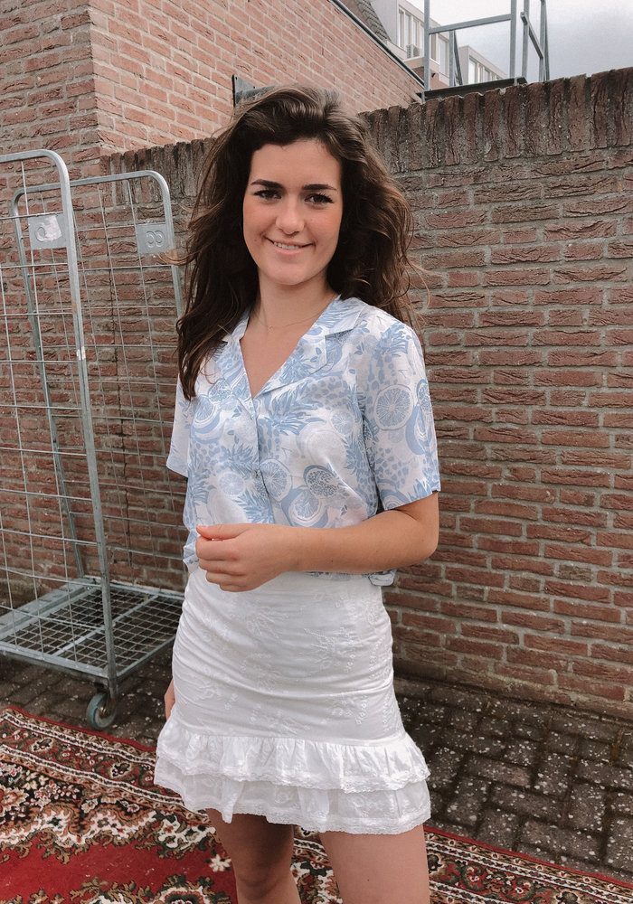 FRNCH - Chemise Chelly Blue Clair