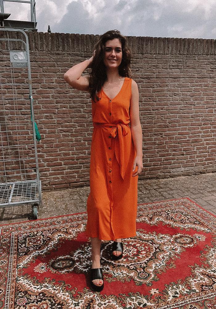 FRNCH - Astrance Dress Orange
