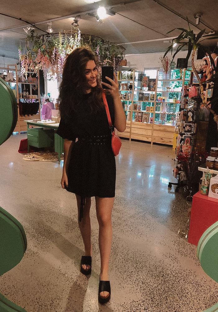 TilTil - Ilse Dress Black