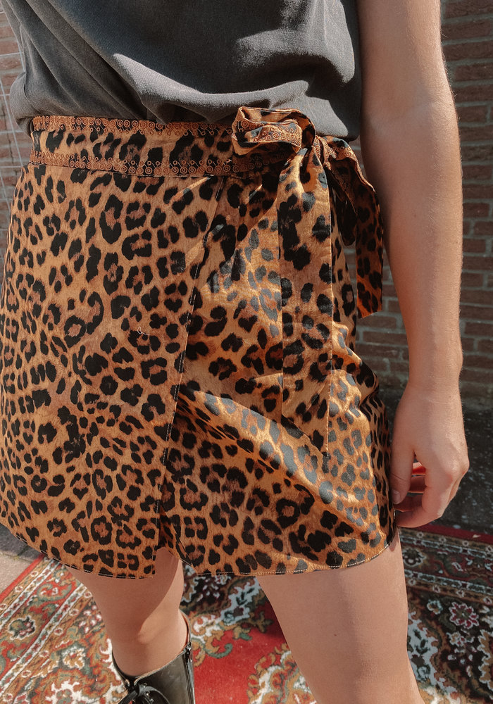 Harper & Yve -  Lexie Skirt Leopard