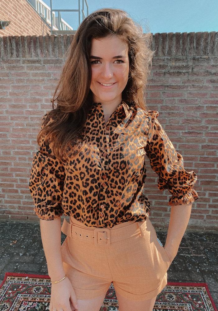 Harper & Yve -  Lexie Blouse Leopard