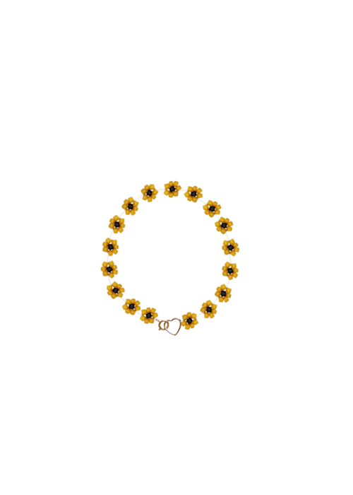 Atelier Labro Atelier Labro - Fiori Bracelet Tuscan Orange