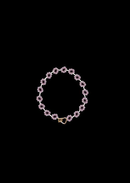 Atelier Labro Atelier Labro - Fiori Bracelet Mauve