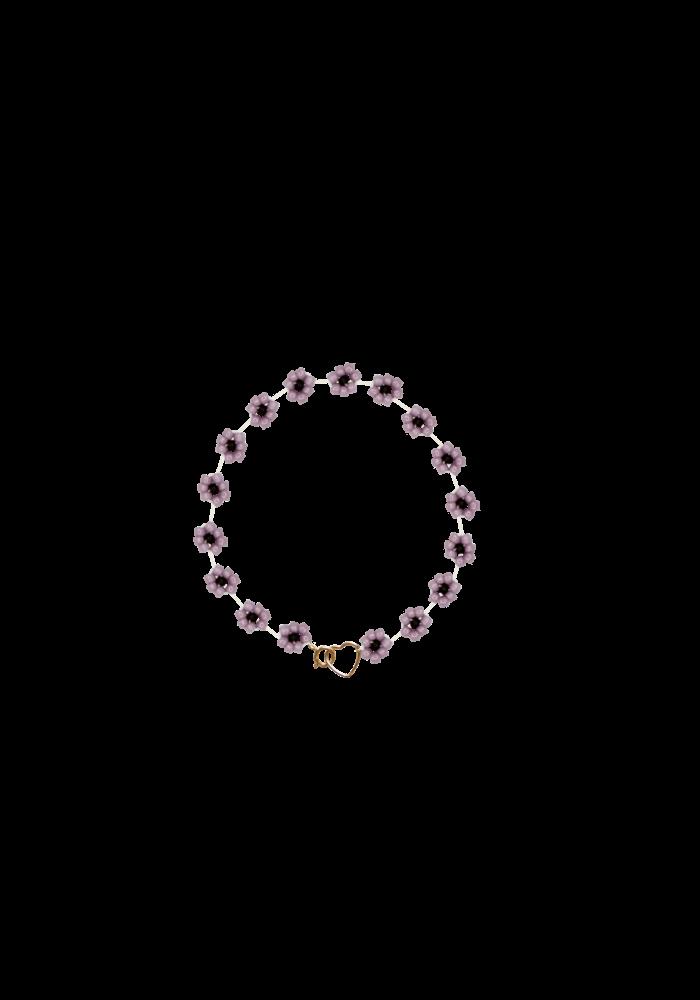 Atelier Labro - Fiori Bracelet Mauve