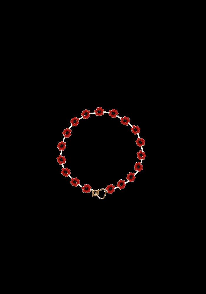 Atelier Labro - Fiori Bracelet Cherry