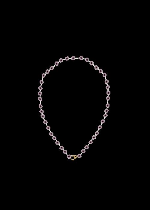 Atelier Labro Atelier Labro - Fiori Necklace Mauve