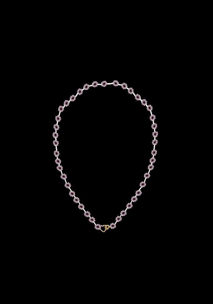 Atelier Labro - Fiori Necklace Mauve