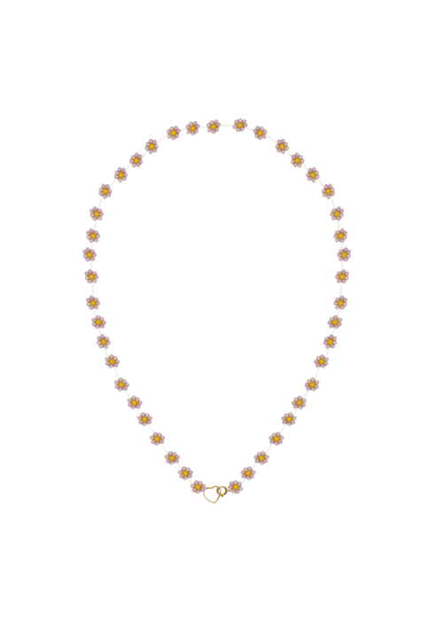 Atelier Labro Atelier Labro - Fiori Necklace Pink