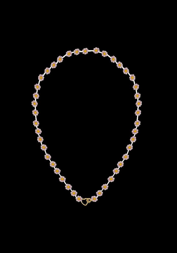 Atelier Labro - Fiori Necklace Pink