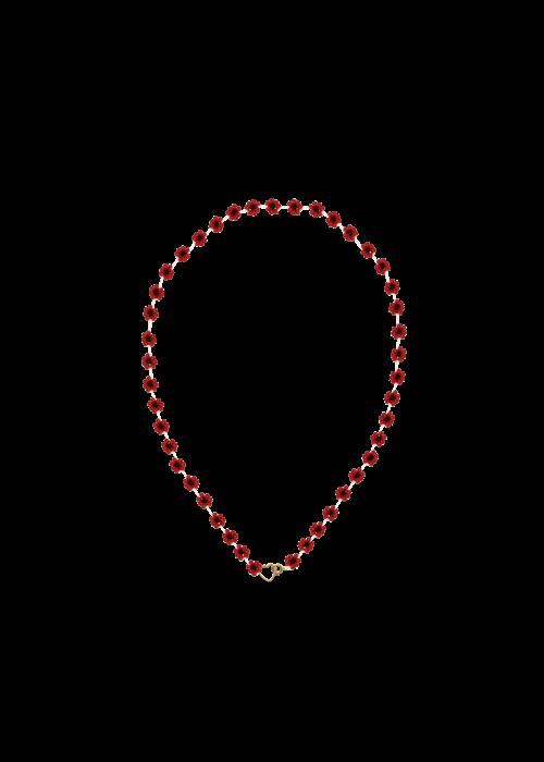 Atelier Labro Atelier Labro - Fiori Necklace Cherry