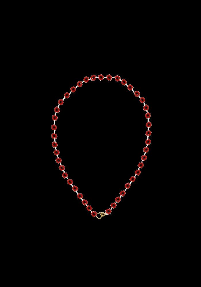 Atelier Labro - Fiori Necklace Cherry