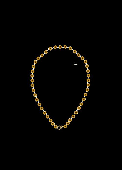 Atelier Labro Atelier Labro - Fiori Necklace Tuscan Orange