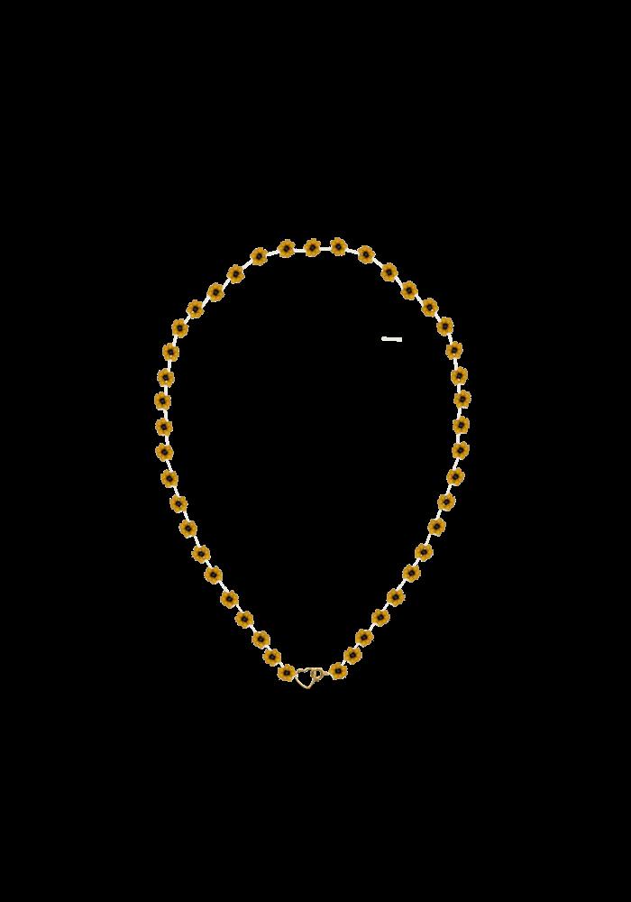 Atelier Labro - Fiori Necklace Tuscan Orange