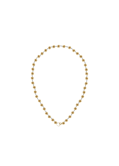 Atelier Labro Atelier Labro - Fiori Necklace Dark Beige