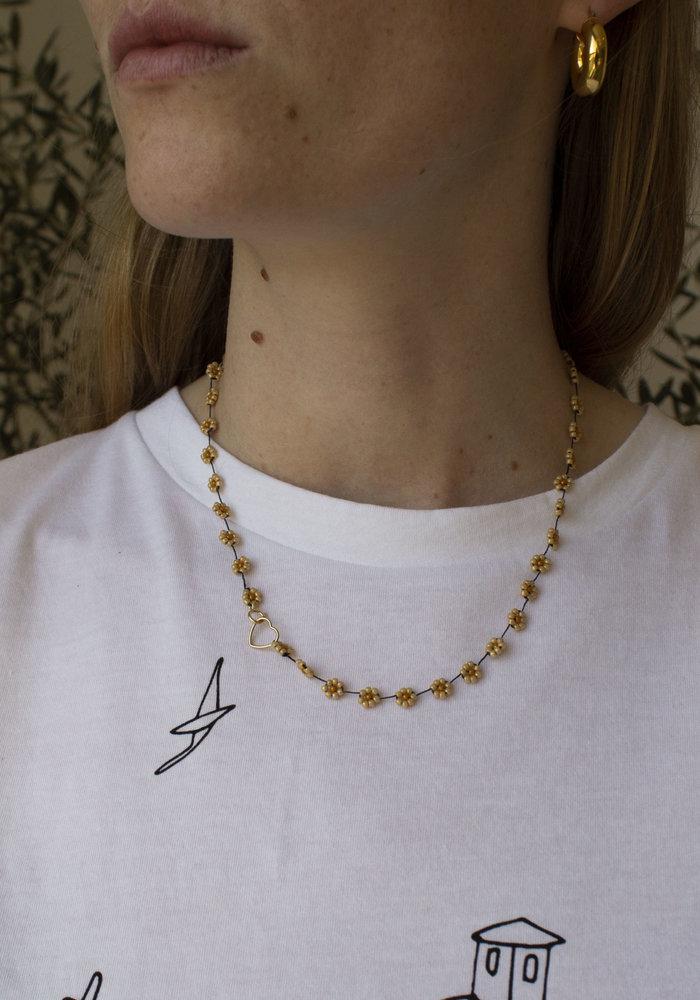 Atelier Labro - Fiori Necklace Dark Beige