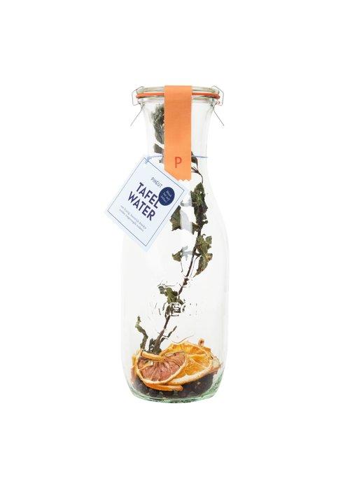 Pineut - Karaf - Tafelwater Citrus Munt En Blauwe Bes