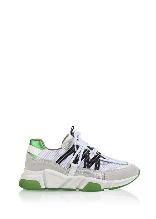 DWRS DWRS - Sneaker - Los Angeles White/Silver