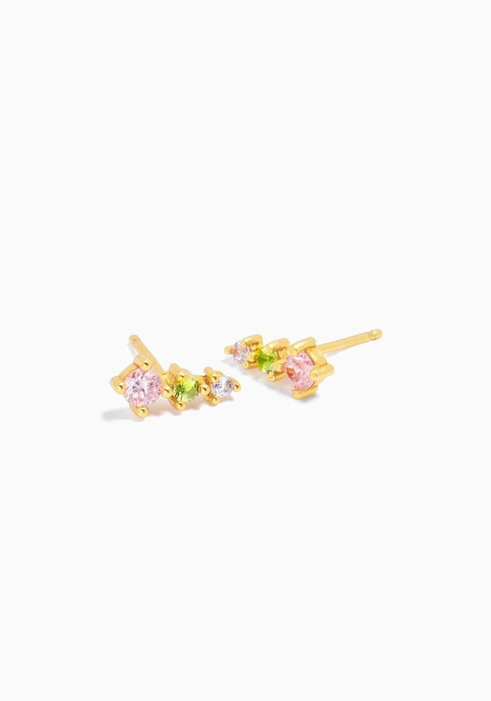 Eline Rosina - Paradise Cone Earrings (per paar)