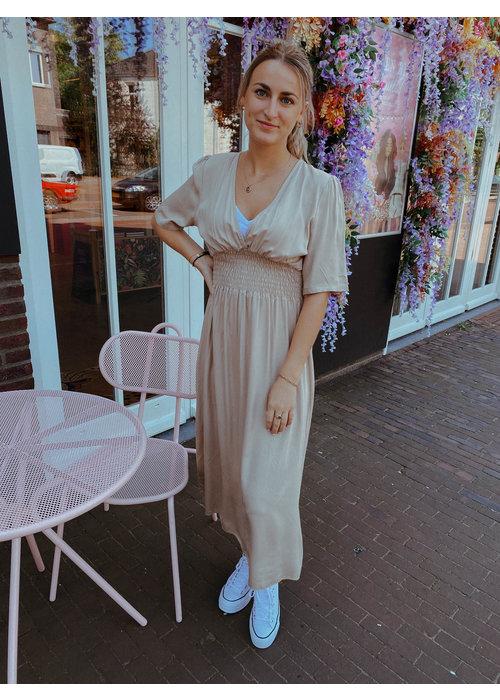 TilTil - Fenna Dress Beige