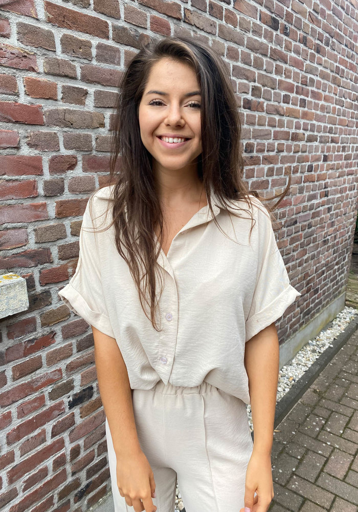 TilTil - Ciara Blouse Beige