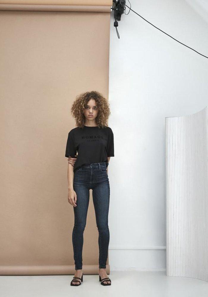 Homage 008 - Skinny Jeans Dark Blue