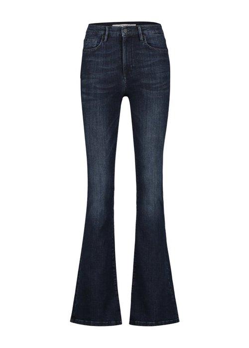 Homage Homage 007 - Flared Jeans Dark Blue