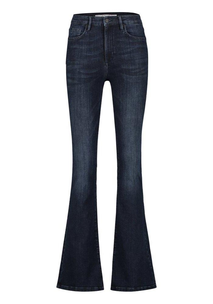 Homage 007 - Flared Jeans Dark Blue