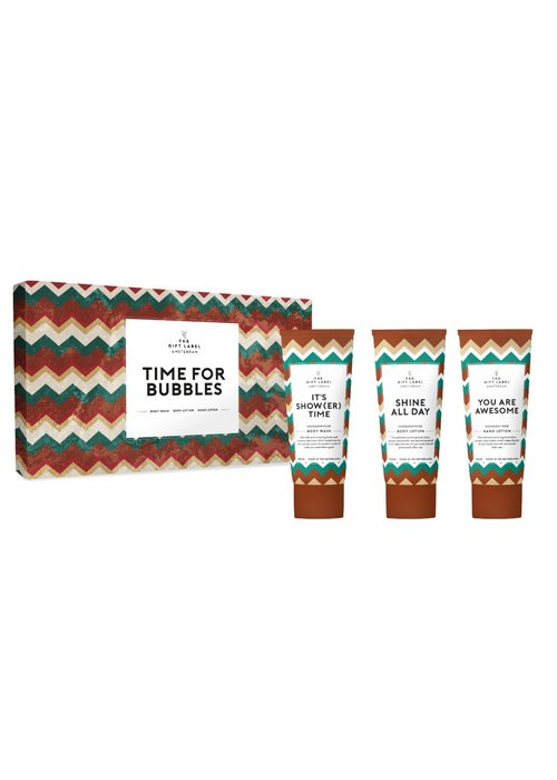 The Gift Label -Luxe Mailbox Set - Time For Bubbles