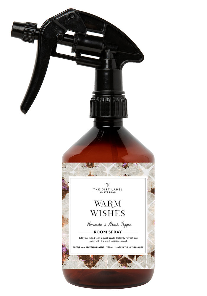 The Gift Label -Homespray 500ml - Warm Wishes