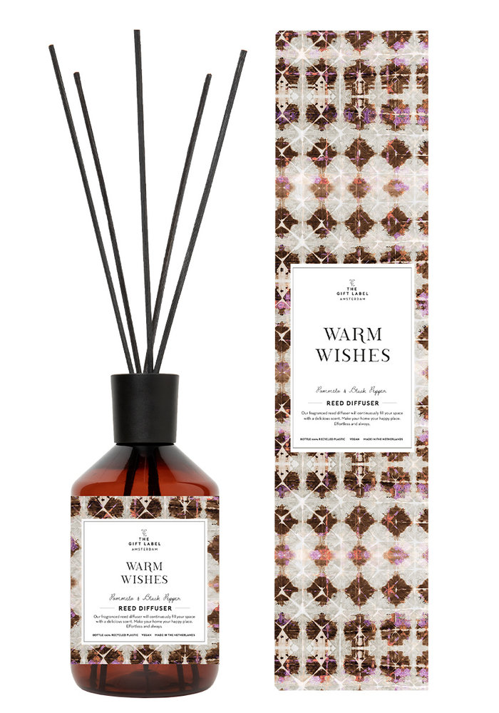The Gift Label - Reed Diffuser400ml - Warm Wishes