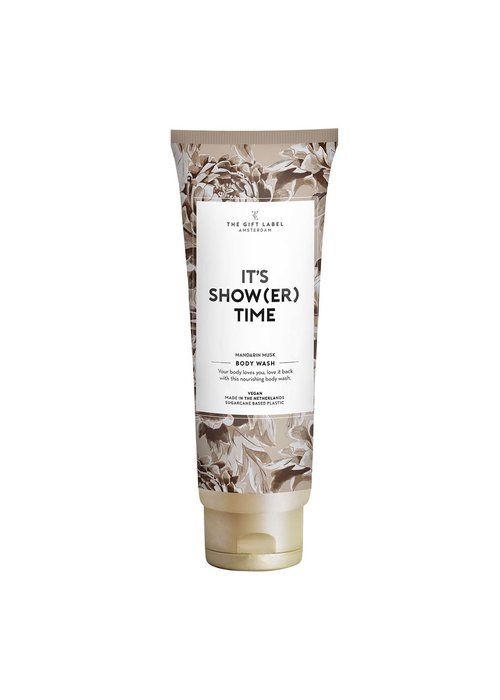 The Gift Label - Body Wash Tube -  It's show(er) time