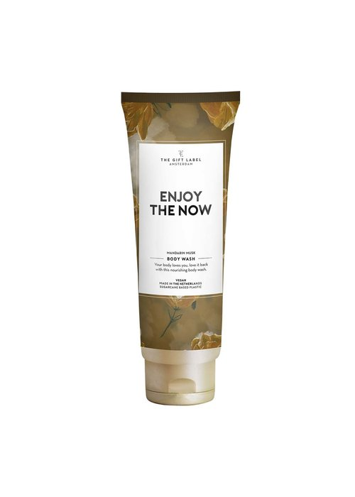 The Gift Label - Body Wash Tube - Enjoy The Now
