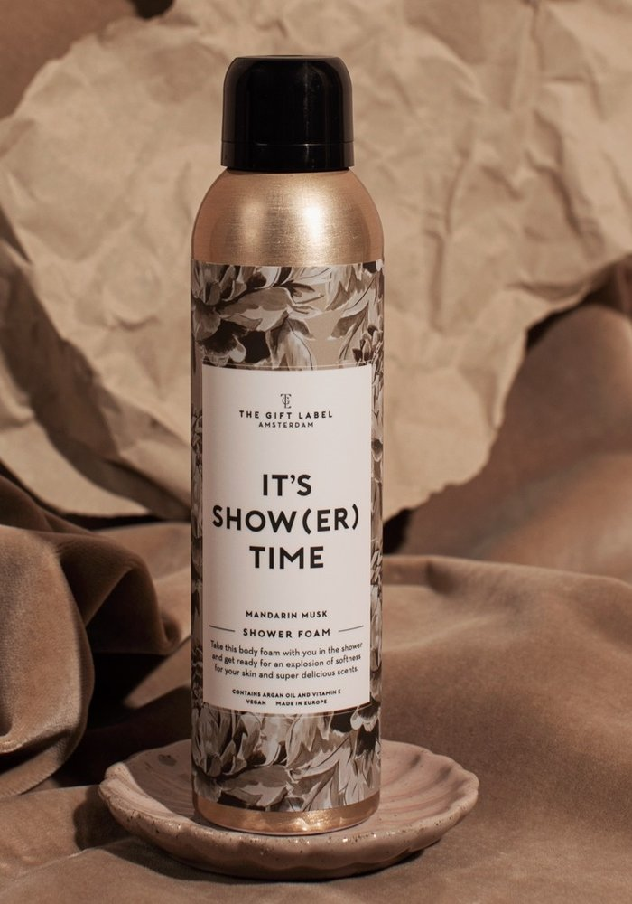 The Gift Label - Body Foam - It's Show(er) time