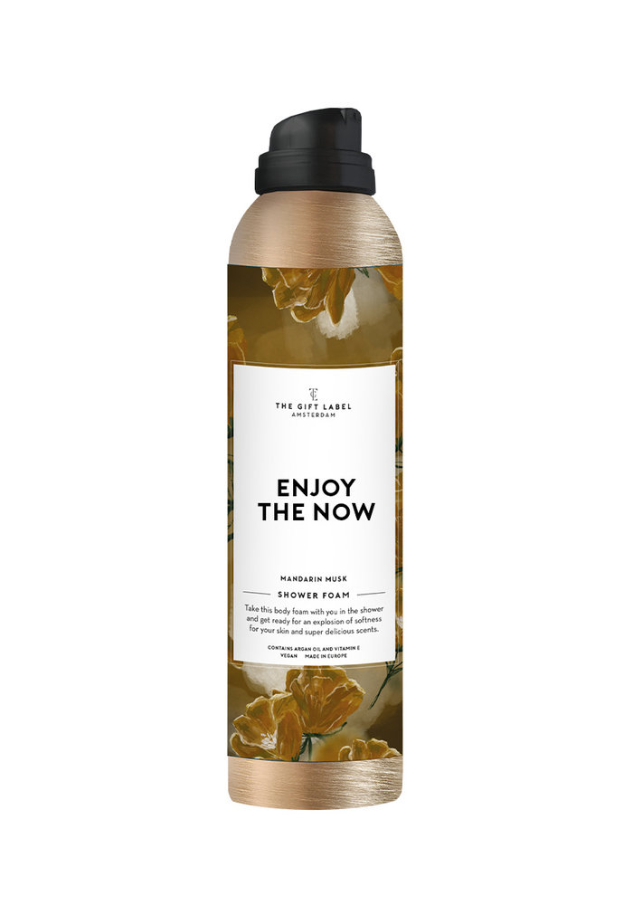 The Gift Label - Body Foam - Enjoy The Now