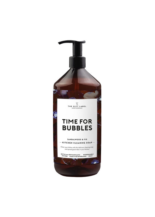 The Gift Label - Kitchen Cleaning Soap  Time For Bubbles