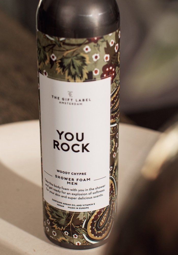 The Gift Label - Body Foam Men 200ml - You Rock