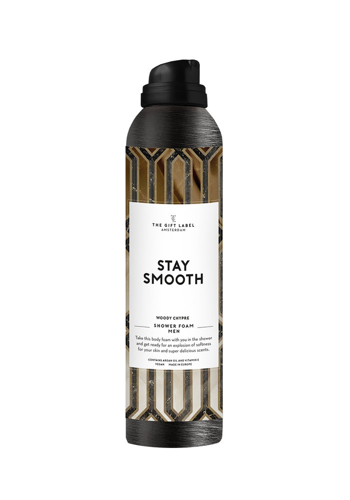 The Gift Label - Body Foam Men 200ml - Stay Smooth